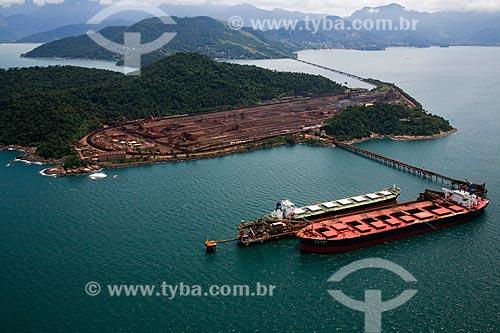 Foto aérea do Porto de Guaíba  - Mangaratiba - Rio de Janeiro (RJ) - Brasil
