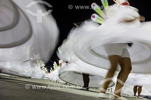 Desfile do Grêmio Recreativo Escola de Samba Unidos do Porto da Pedra - Ala das Baianas - Enredo 2015 - Há uma luz que não se apaga  - Rio de Janeiro - Rio de Janeiro (RJ) - Brasil