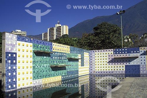 Painel de Roberto Burle Marx no Parque del Este (1961) - oficialmente Parque Generalissimo Francisco de Miranda  - Caracas - Distrito Capital - Venezuela