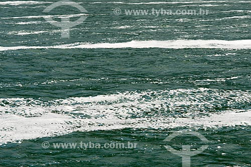 Proliferação de algas marinhas na Baía de Ilha Grande  - Angra dos Reis - Rio de Janeiro (RJ) - Brasil