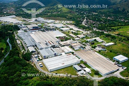 Foto aérea da fábrica da Michelin  - Rio de Janeiro - Rio de Janeiro (RJ) - Brasil