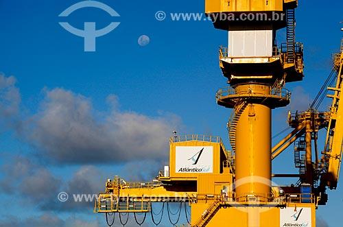 Detalhe de guindaste no Estaleiro Atlântico Sul  - Ipojuca - Pernambuco (PE) - Brasil