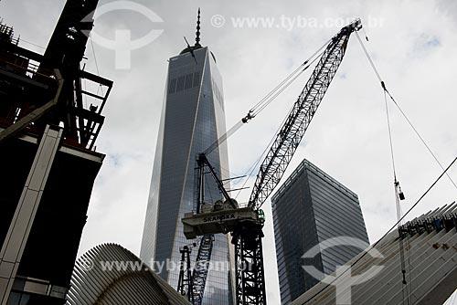 World Trade Center 1 - construído no Marco Zero do World Trade Center  - Cidade de Nova Iorque - Nova Iorque - Estados Unidos