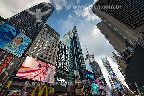 Prédios na Times Square  - Cidade de Nova Iorque - Nova Iorque - Estados Unidos