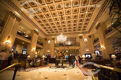 Hall do The Roosevelt Hotel (1924)  - Cidade de Nova Iorque - Nova Iorque - Estados Unidos