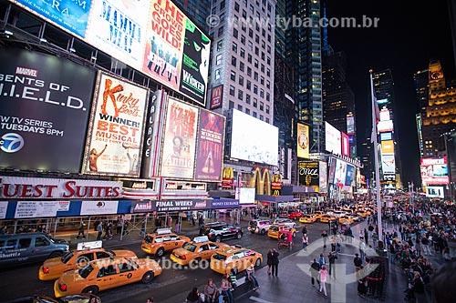 Táxis próximos à Times Square  - Cidade de Nova Iorque - Nova Iorque - Estados Unidos
