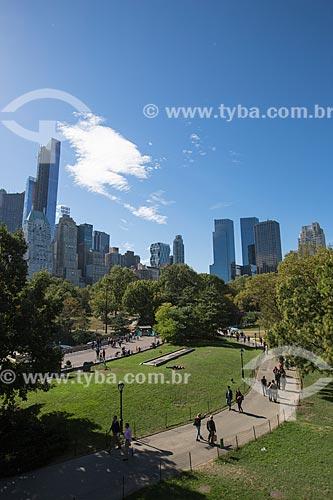 Pessoas no Central Park  - Cidade de Nova Iorque - Nova Iorque - Estados Unidos