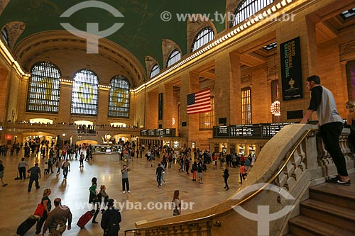 Interior do Grand Central Terminal  - Cidade de Nova Iorque - Nova Iorque - Estados Unidos