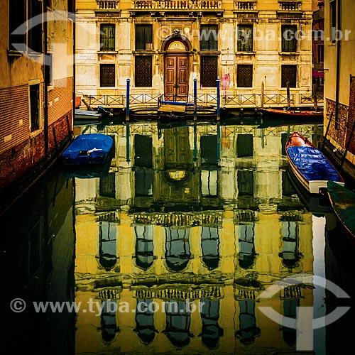 Rio de Servi e Rio di Santa Fosca  - Veneza - Província de Veneza - Itália