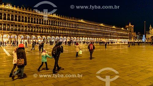 Praça São Marcos (Piazza San Marco)  - Veneza - Província de Veneza - Itália