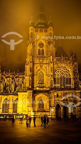 Grande Torre Sul - Catedral de São Vito  - Praga - Região da Boêmia Central - República Tcheca