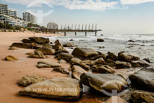 Píer na Praia de uMhlanga  - Durban - Província KwaZulu-Natal - África do Sul
