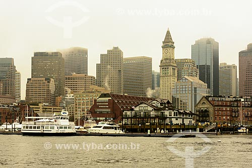 Porto da cidade de Boston  - Boston - Massachusetts - Estados Unidos