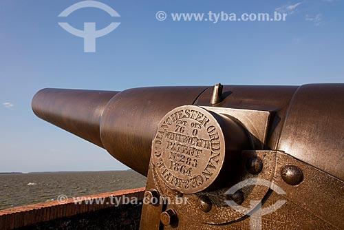 Canhões do Forte do Castelo do Senhor Santo Cristo (1616) - também conhecido como Forte do Castelo ou Forte do Presépio   - Belém - Pará (PA) - Brasil