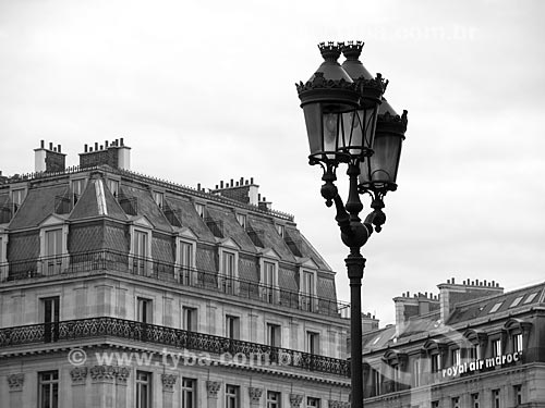 Detalhe do Palais Garnier (Ópera Garnier) - 1875  - Paris - Paris - França