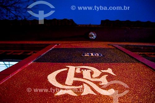 Fachada da casa de Dona Zica - Torcedora do Flamengo  - Rio de Janeiro - Rio de Janeiro (RJ) - Brasil