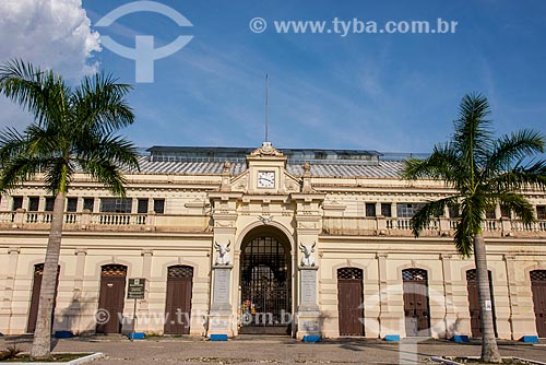 Fachada do Mercado de São Brás (1911)  - Belém - Pará (PA) - Brasil