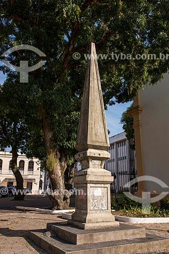 Obelisco na Praça do Líbano - também conhecido como Largo de São João  - Belém - Pará (PA) - Brasil