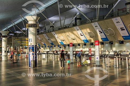 Área de embarque do Aeroporto Internacional de Belém/Val-de-Cans - Júlio Cezar Ribeiro  - Belém - Pará (PA) - Brasil
