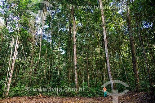 Técnico do Instituto Floresta Tropical (IFT) no Centro de Manejo Florestal Roberto Bauch  - Paragominas - Pará (PA) - Brasil