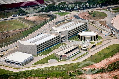 Foto aérea da Faculdade de Tecnologia do Estado de São Paulo (FATEC)  - São Paulo - São Paulo (SP) - Brasil