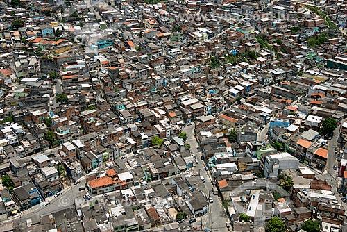 Foto aérea de habitação na região de Campo Limpo I  - São Paulo - São Paulo (SP) - Brasil