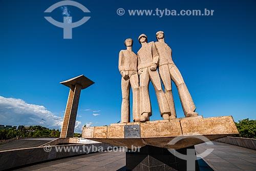 Monumento aos Mortos da Segunda Guerra Mundial - Monumento aos Pracinhas  - Rio de Janeiro - Rio de Janeiro (RJ) - Brasil