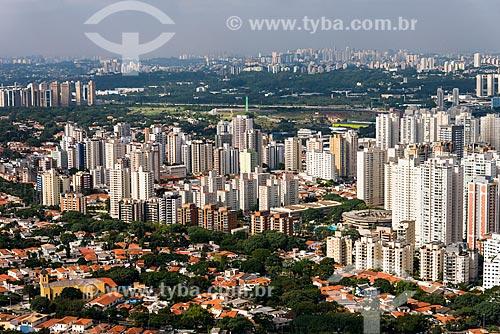 Vista geral de edifícios no Vila Leopoldina com o SESI Leopoldina à direita  - São Paulo - São Paulo (SP) - Brasil