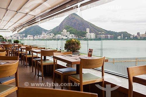 Vista da Lagoa Rodrigo de Freitas a partir de restaurante no Lagoon Rio - Espaço Gastronômico Lagoon  - Rio de Janeiro - Rio de Janeiro (RJ) - Brasil