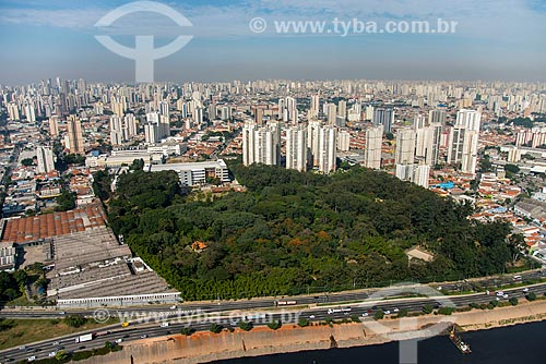 Foto aérea do Parque do Piqueri  - São Paulo - São Paulo (SP) - Brasil