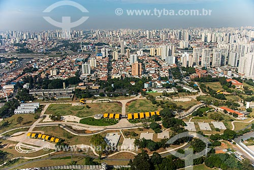 Foto aérea do Parque Estadual do Belém - antiga sede da Fundação Estadual do Bem Estar do Menor (FEBEM), atual Fundação Casa  - São Paulo - São Paulo (SP) - Brasil