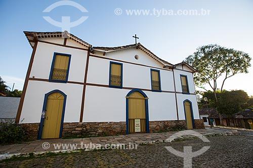 Igreja de Nossa Senhora do Carmo (1754) - hoje também abriga o Museu de Arte Sacra   - Pirenópolis - Goiás (GO) - Brasil