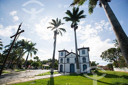 Fachada da Igreja de Nosso Senhor do Bonfim (1754)  - Pirenópolis - Goiás (GO) - Brasil