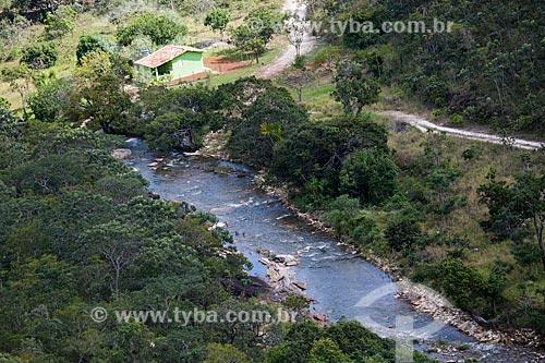 Rio das Almas no Parque Estadual da Serra dos Pireneus  - Pirenópolis - Goiás (GO) - Brasil