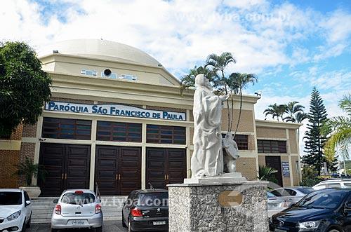 Igreja - Paróquia de São Francisco de Paula  - Rio de Janeiro - Rio de Janeiro (RJ) - Brasil