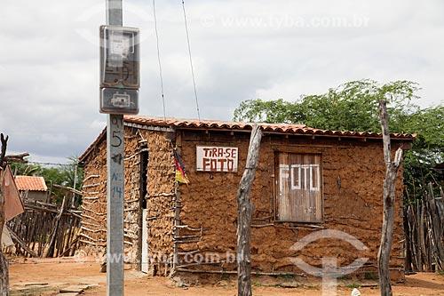 Casa de pau-a-pique    - Petrolina - Pernambuco (PE) - Brasil