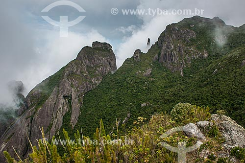 Cume do Morro da Cruz - Parque Nacional da Serra dos Órgãos  - Teresópolis - Rio de Janeiro (RJ) - Brasil