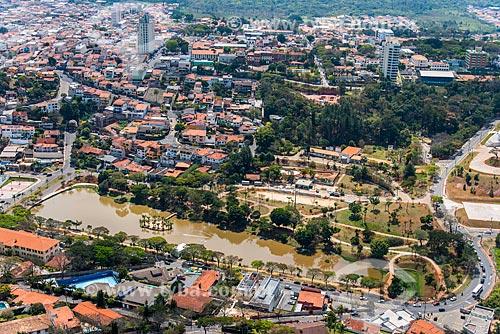 Foto aérea do Lago do Major  - Atibaia - São Paulo (SP) - Brasil