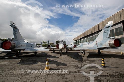 Aviões Caças Mirage F2000C na Base Aérea de Anápolis (BAAN)  - Anápolis - Goiás (GO) - Brasil
