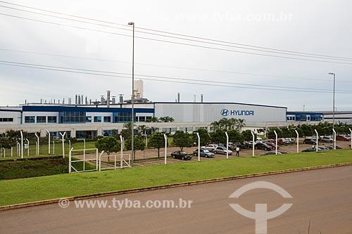 Fábrica da montadora Hyundai Motor Company  - Anápolis - Goiás (GO) - Brasil