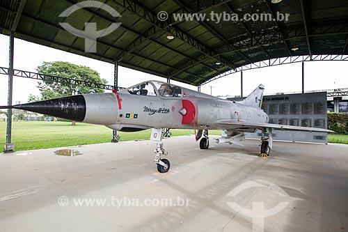 Avião Caça Mirage III na Base Aérea de Anápolis (BAAN)  - Anápolis - Goiás (GO) - Brasil