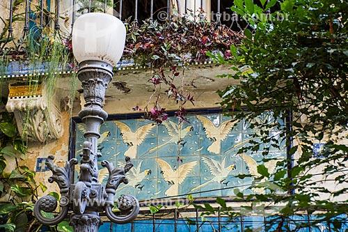 Prédios históricos degradados no Largo do Boticário  - Rio de Janeiro - Rio de Janeiro (RJ) - Brasil