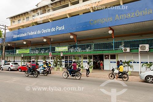 Fachada do Campus Amazônia da Universidade Federal Oeste do Pará  - Santarém - Pará (PA) - Brasil