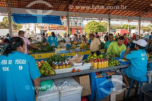Temperos à venda no Mercado de Peixes da cidade de Santarém  - Santarém - Pará (PA) - Brasil
