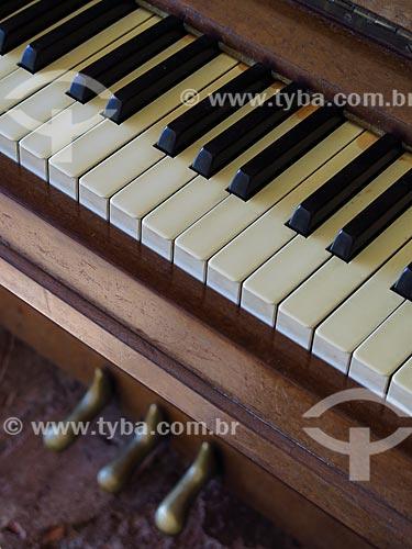 Teclado de Piano  - Gramado - Rio Grande do Sul (RS) - Brasil
