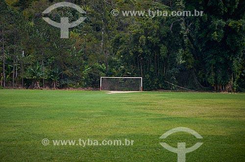 Campo de futebol de várzea  - Teresopolis - Rio de Janeiro - Brazil