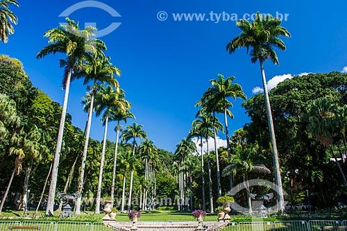 Jardins do Palácio Guanabara (1853) - sede do Governo do Estado  - Rio de Janeiro - Rio de Janeiro (RJ) - Brasil