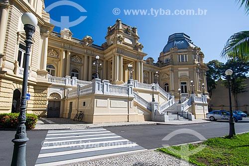 Fachada do Palácio Guanabara (1853) - sede do Governo do Estado  - Rio de Janeiro - Rio de Janeiro (RJ) - Brasil