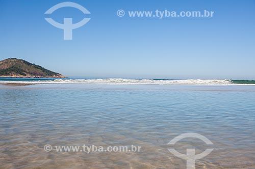 Ilha das Palmas em frente à Praia de Grumari  - Rio de Janeiro - Rio de Janeiro (RJ) - Brasil