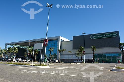 Fachada do Park Shopping Campo Grande  - Rio de Janeiro - Rio de Janeiro (RJ) - Brasil
